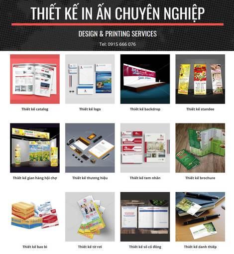 Hanoi Printing Services • Đống Đa • Hà Nội • thietkeinhanoi net